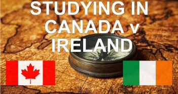 Studying in Canada v Ireland by Danish from India